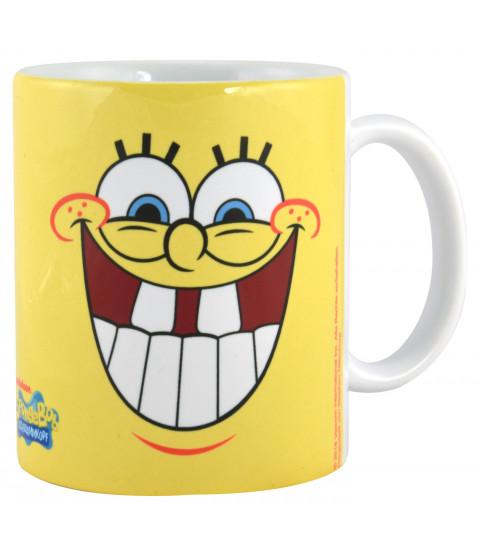 SpongeBob Schwammkopf Tasse SpongeBob Faces