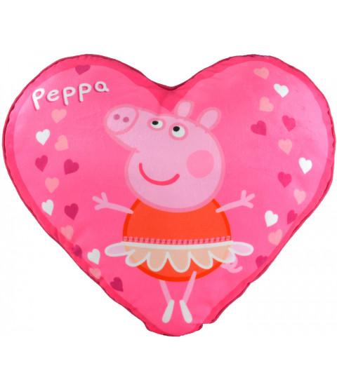 """Peppa Pig - Kissen """"Herzen"""", ca. 40 cm"""