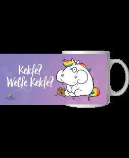 "Pummeleinhorn Tasse, ""Kekfe"", ca. 320ml"