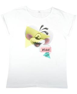 """Diddl T-shirt """"90's"""" weiß Gr. M"""