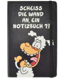 """Ralph Ruthe Notizbuch Hardcover """"Scheiß die Wand an"""""""