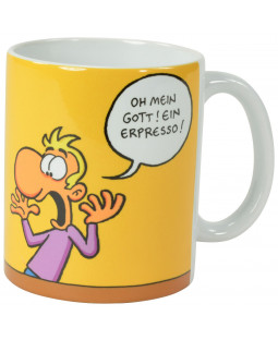 "Ralph Ruthe Kaffeetasse, ""Erpresso"" 320ml"