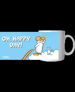 "Ralph Ruthe Kaffeetasse, ""Oh, Happy Day"" 320ml"