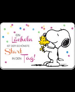 """Snoopy Frühstücksbrettchen """"schönste Start"""""""