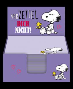 """Snoopy Zettelbox """"Verzettel dich nicht"""""""