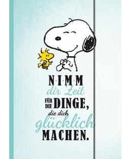 """Snoopy Sammelmappe DIN A4 """"Dinge, die glücklich machen"""""""