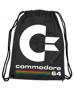 C64 Stoffrucksack schwarz