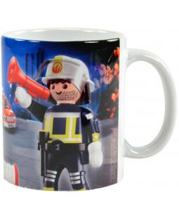 """Playmobil Tasse """"Feuerwehr"""""""