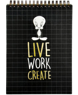 "Tweety Schreibblock ""Live Work Create"""