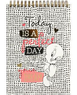 "Tweety Schreibblock ""Today is a perfect day"""