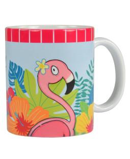 Steinbeck Flamingo Tasse