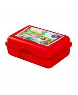 """Der kleine Rabe Socke - Brotdose Lunchbox """"zu Tisch"""" aus Polypropylen, 17,5 x 12,8 x 6,9 cm"""