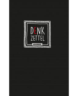 """Tacheles - Notizbuch """"Denkzettel"""", Hardcover mit Gummiband, 80 Blatt, 13 x 21 cm"""