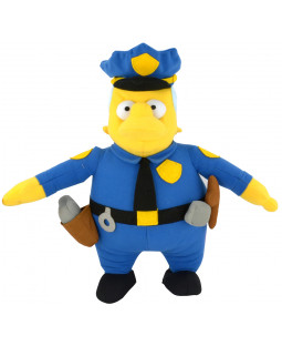 "The Simpsons - Plüschfigur ""Chief Wiggum"", ca. 31 cm - 1001399"