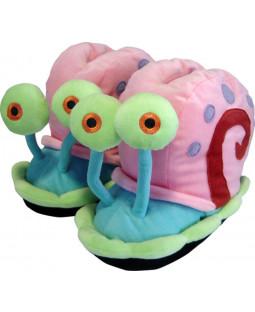 SpongeBob Schwammkopf - 3D Hausschuhe Gary - versch. Größen