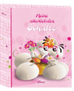 """Diddl Ringbuchordner für DIN A4, """"Mäuseschätze"""""""