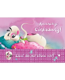 """Diddl Postkarte A6+, Nr. 9, """"Kuschelkissen"""""""