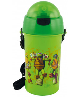 Turtles - Trinkhalmflasche - 400 ml - 0116514