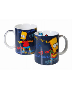 "The Simpsons - Tasse Bart ""Who wants to know"" - 320 ml"
